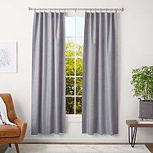 AmazonBasics 2.5 cm Curtain Rod with Square
