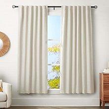 AmazonBasics 3 cm Curtain Rod with Cage Finials,