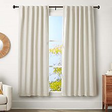 AmazonBasics 3 cm Curtain Rod with Knob Finials,
