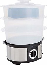 AmazonBasics 3-Tier Food Steamer with 75-Minute