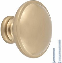 AmazonBasics AB300-GC-25 Cabinet Knobs, 25-pack,
