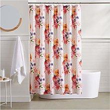 AmazonBasics Blossom Bathroom Shower Curtain - 72