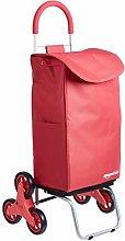AmazonBasics Folding Stair Climber Shopping Cart