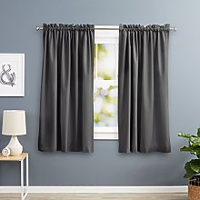 AmazonBasics Heat Insulating Blackout Curtain, 2