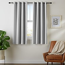 AmazonBasics Room-Darkening Blackout Curtain Set