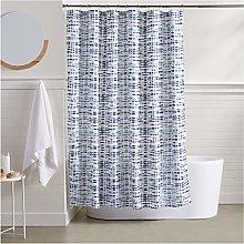 AmazonBasics Serene Shower Curtain - 72 Inch