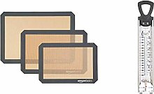 AmazonBasics Silicone Baking Mat - 3-Piece Set &
