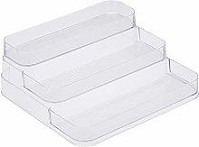 AmazonBasics Tiered Plastic Kitchen Storage Bin