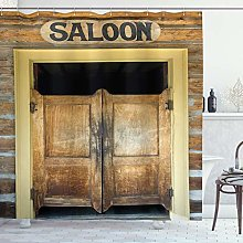 Ambesonne Saloon Decor Collection, Authentic