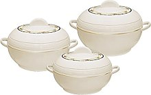 Ambiente 3pc Hot Pot Set of Insulated Serving