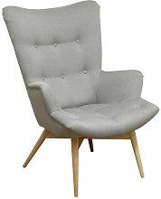 Ambrosia Armchair Mikado Living Upholstery: Light