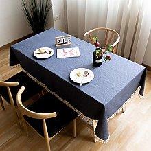 AMCER Rectangular Tablecloth 120x240cm, Wipeable