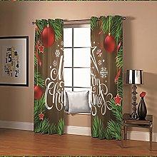 Amdxd Cafe Kitchen Curtains Multicolour Christmas