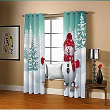 Amdxd Curtain Living Room White And Green