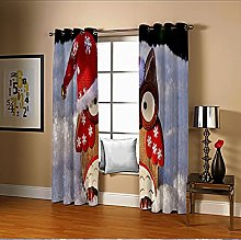 Amdxd Window Curtains for Living Room Multicolour