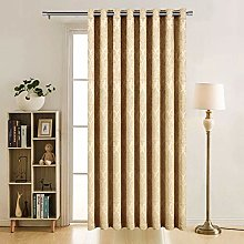 AMEHA Blackout Single Panel Door Curtain - Thermal