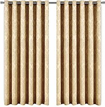 AMEHA Blackout Soundproof Curtain Panels for