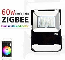 AMEIDD ZIGBEE ZLL LED Floodlight,30W/60W,RGB+CCT