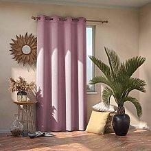 AmeliaHome Blackout Curtain 140 x 245 cm Pink 1