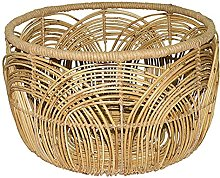 American Country Style Hand Woven Rattan Coffee