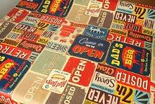 american diner tablecloth (200cm x 137cm)