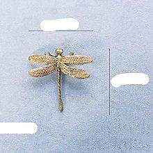 American European Retro Brass Small Butterfly