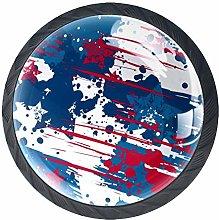 American Flag Stars Cabinet Door Knobs Handles