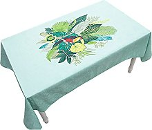 American Pastoral Style Table Cloth Thick Washable