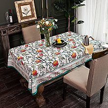 American Pastoral Style Tablecloth Thick