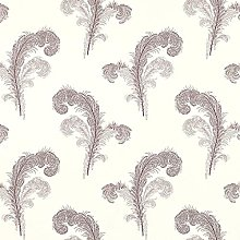 Amethyst Swansbrook Wallpaper Cream Lilac Grey