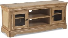 Ametis Wooden Plasma TV Stand Rectangular In Oak