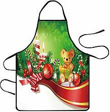 AMhomely Christmas Decoration Waterproof Apron