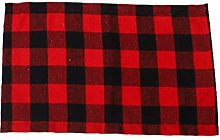 AMhomely Christmas Decorations Sale 1pc Plaid