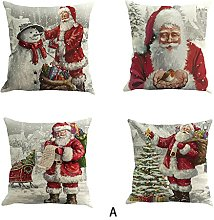 AMhomely Christmas Decorations Sale, 4PC Christmas