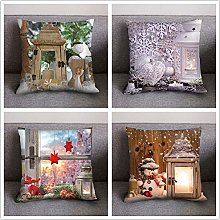 AMhomely Christmas Decorations Sale, 4Pc Print