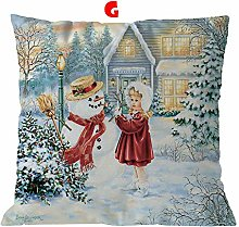 AMhomely Christmas Decorations Sale,Cotton Linen