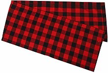 AMhomely Christmas Decorations Sale Plaid Pattern