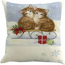 AMhomely Christmas Pillow Cover Pillowcases