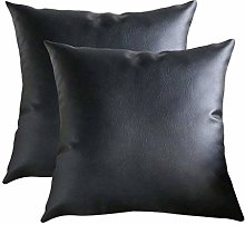 AMhomely Cushion Covers,Decorative 2pc Faux