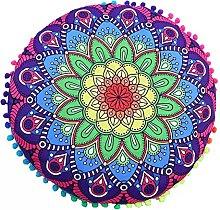 AMhomely Cushion Covers,Decorative Indian Mandala