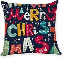 AMhomely Home Decor Cushion Cover Merry Christmas