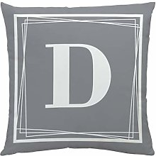 AMhomely Pillow Case English Letter Pattern Sofa