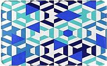 AMIGGOO Entrance Rug Floor Mats,Geometric