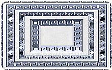 AMIGGOO Entrance Rug Floor Mats,Greece With Greek