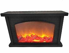 Amiispe LED table fireplace with flame simulation
