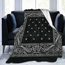 Amknu Personalized Custom Throw Blanket,Bandana