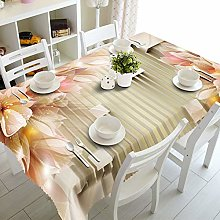Amody Tablecloth Rectangle Polyester, Table Cloth