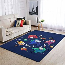 Among Us Area Rug Patterned Soft Rectangle Area