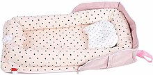 AMONIDA Portable Detachable Baby Crib, Infant Bed,
