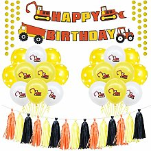 Amosfun 20pcs Birthday Decorations Party Supplies